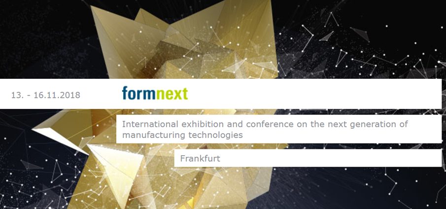 See You At Formnext 2018 In Germany